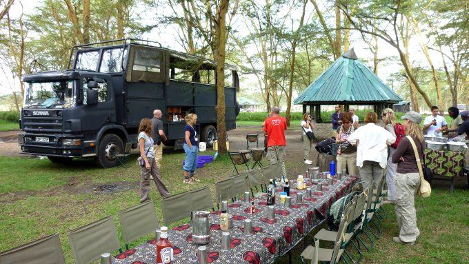 Rutas en camión por Tanzania
