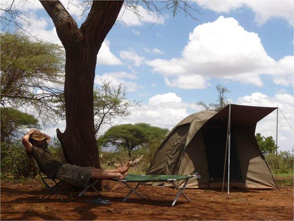 Viajes a Tanzania - Campamento