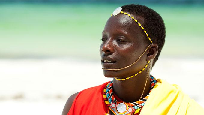 Masai pueblo tanzania