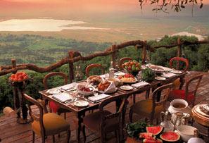 Viajes a Tanzania - Ngorongoro Cráter Lodge