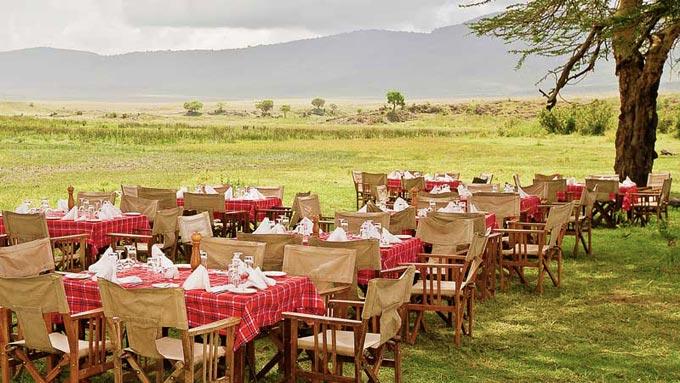 alojamiento en crater Ngorongoro