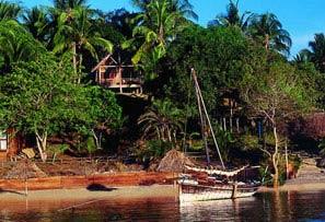 Pole Pole alojamiento isla de mafia