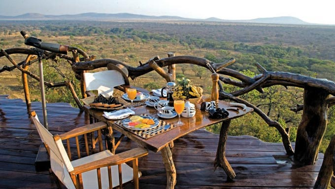 alojamiento en Serengeti